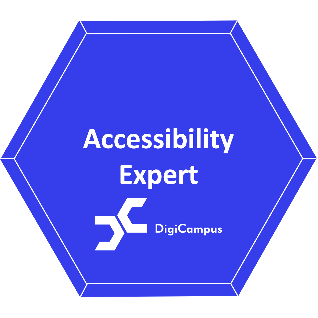 Accessibility Expert badge